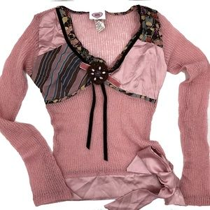 Patricia Forgeal Paris Vintage Mohair Silk Sweater